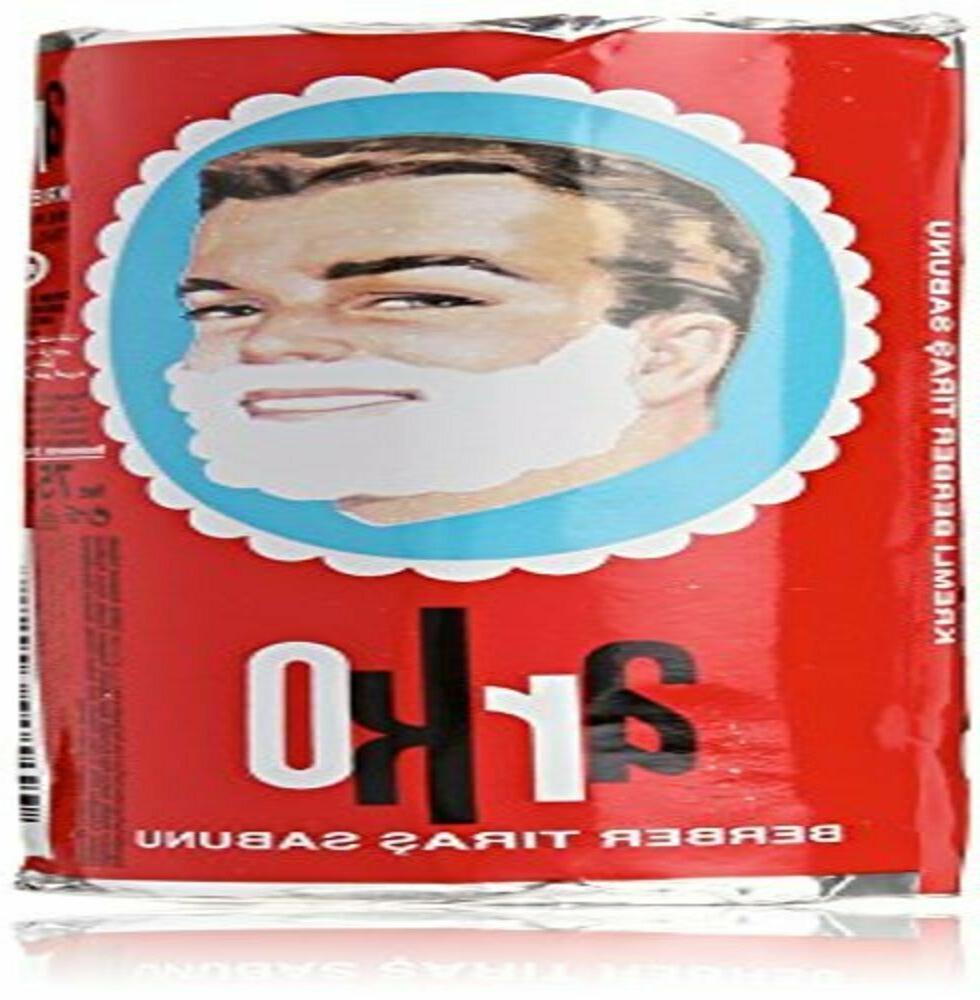 Arko Shaving Soap Stick, White, 12 Count, 900g net by Arko