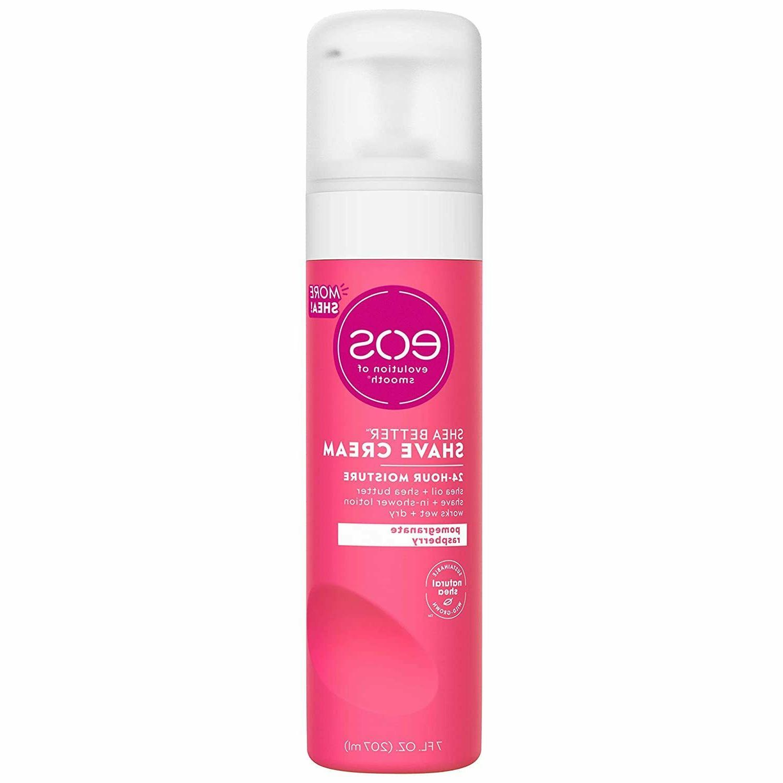 shea better shaving cream for women pomegranate