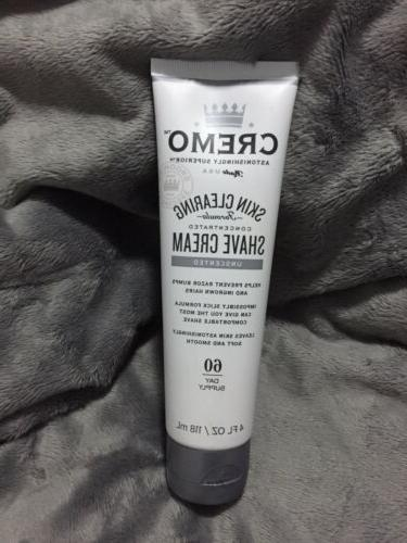 skin clearing formula concentrated shave cream unscented