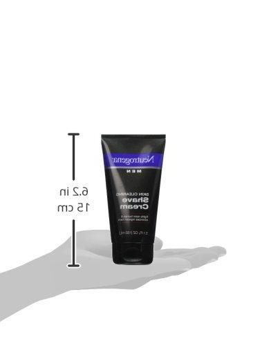 Neutrogena Men Skin Shave Cream - 5.1 fl