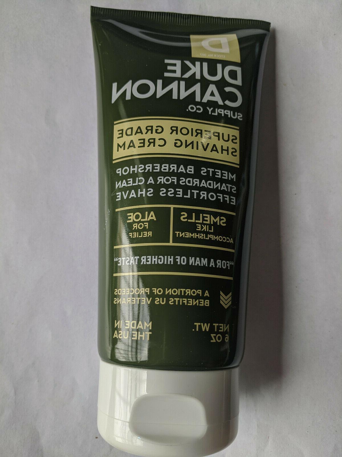 superior grade shaving cream 6o
