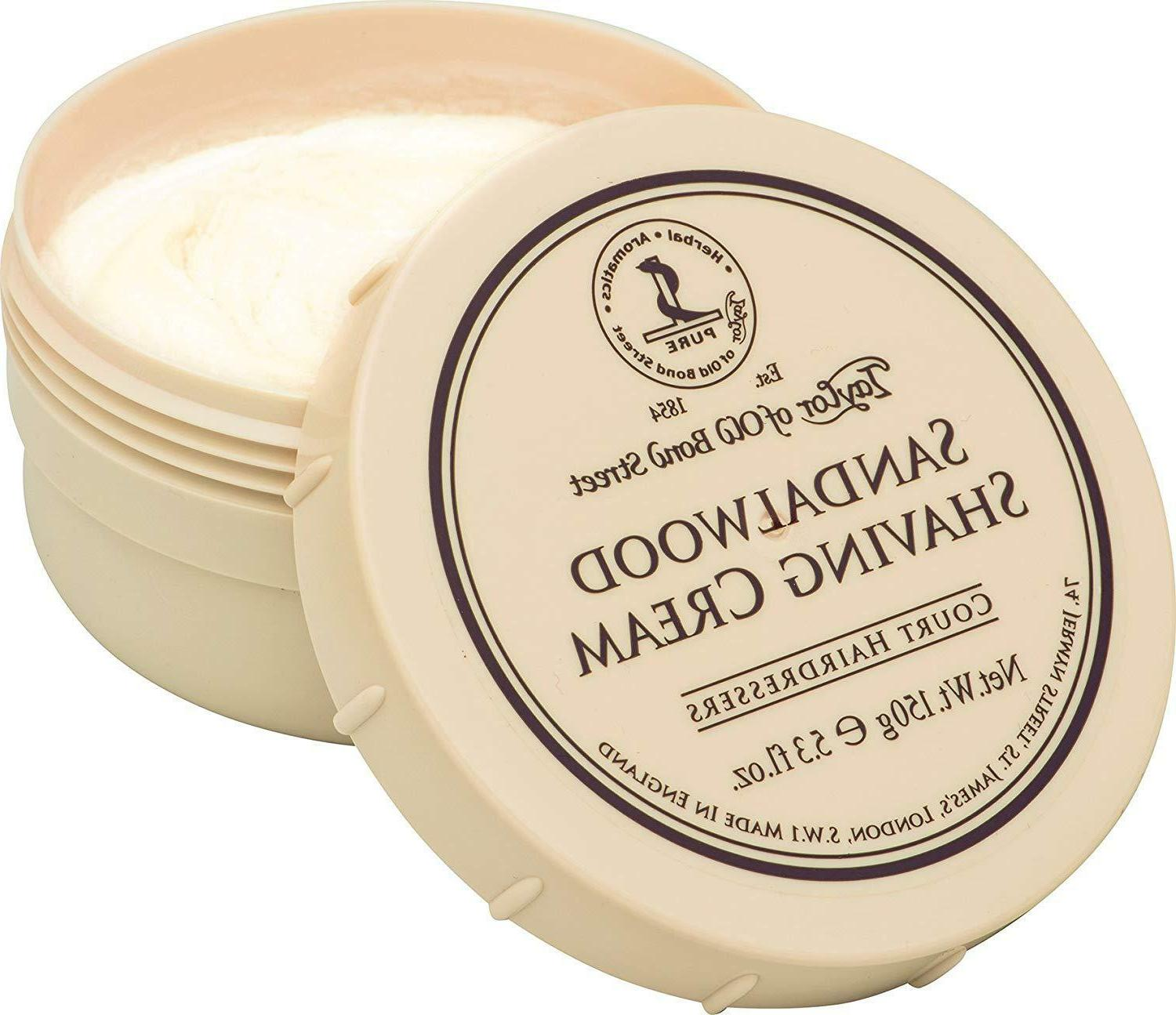 taylor of old bond street sandalwood shaving