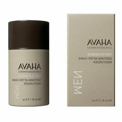 AHAVA Time to Energize Soothing After-Shave Moisturizer for