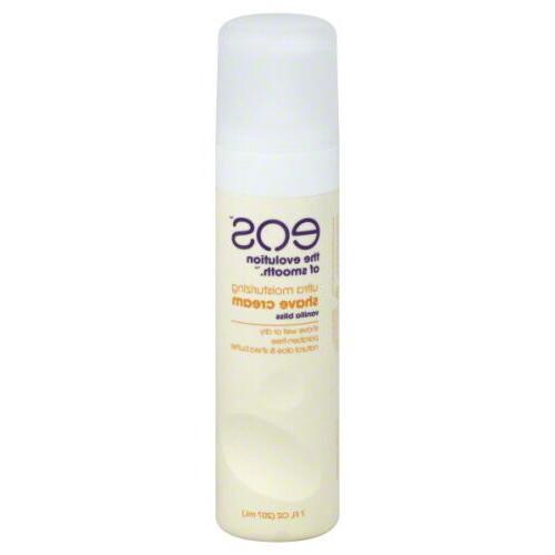 EOS Ultra Moisturizing Shave Cream, Vanilla Bliss, 7 Oz. Bot