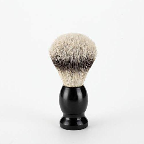wet shaving brush animal hair
