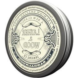 Lather & Wood Shaving Soap - Sandalwood - Lot of 2!