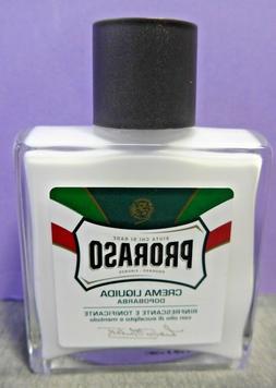 Proraso Liquid After Shave Cream 3.4 fl oz