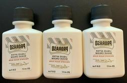 2 X Proraso Men's Liquid After Shave Cream 25 ml / .8 oz NEW