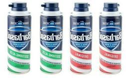 2x Barbasol Shaving Cream 6 oz Aerosol Can Soothing Aloe or