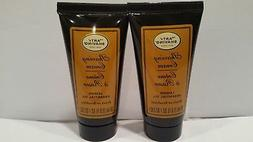 The Art Of Shaving Lot Of 2 Shaving Cream Lemon Oil Brush Or