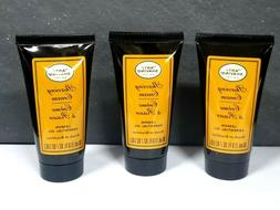 LOT OF 3 The Art Of Shaving cream LEMON ESSENTIAL OIL 1 oz 3