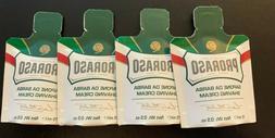 Lot of 4 Proraso Shaving Cream travel/sample size 15ml each
