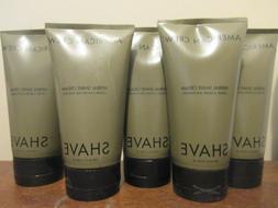 Lot of 5 American Crew herbal Shave Cream 5.1 oz