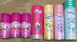 LOT OF 7 - SKINTIMATE SHAVE gel/cream 2.75- 10oz FREE SHIPPI