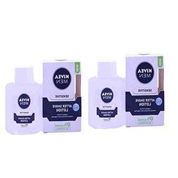 2 Lots X Nivea for Men Sensitive After Shave Lotion - 100 ml