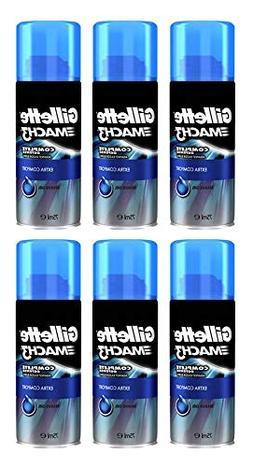 Gillette Mach3 Extra Comfort Shave Gel Shaving Cream Travel