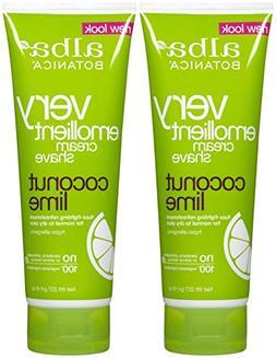 Alba Botanica Moisturizing Cream Shave, Coconut Lime - 8 oz