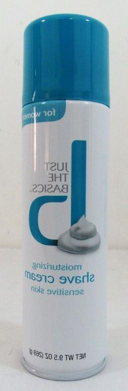 moisturizing sensitive skin shave cream for women