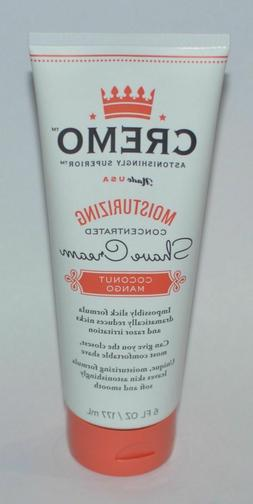 Cremo Coconut Mango Moisturizing Shave Cream, Astonishingly