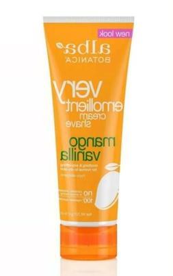 Alba Botanica Natural Very Emollient Cream Shave, Mango Vani