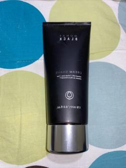 NEW Monat Monet Mens Black Cream SHAVE  - 6.0oz Free shippin