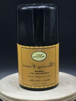 NEW SEALED Art Of Shaving LEMON Shaving Cream 1.7 Oz TRAVEL