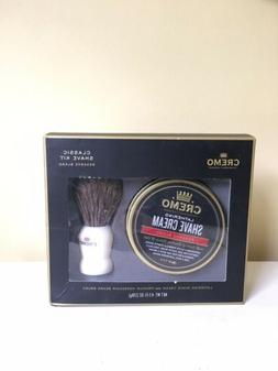 NIB Cremo Classic Shave Kit Reserve Blend Lather Shave Cream