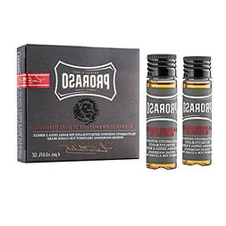 Proraso Hot Oil Beard Treatment, 4 Count