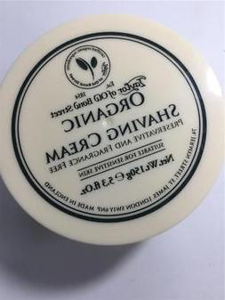 Taylor of Old Bond Street Organic Shaving Cream w/Aloe & Joj