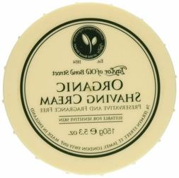 organic shaving cream w aloe
