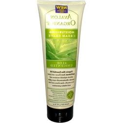 Avalon Organics Moisturizing Shave Cream, Aloe Unscented - 8