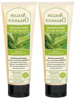 Avalon Organics Shave Cream Aloe Unscnt