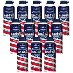 Barbasol Original Thick and Rich Shaving Cream for Men, 6 oz