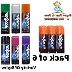 pack of 6 shave gel for men