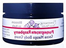 Flowersong Pomegranate Raspberry Cocoa Mango Body Cream - De