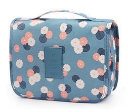 Portable Hanging Travel Toiletry Bag Waterproof Makeup Organ