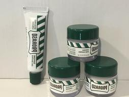 Proraso Pre-Shave Cream 3 x 15ml, Shaving Cream 10ml, Travel