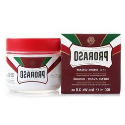 Proraso Pre Shave Cream Moisturizing and Nourishing Red