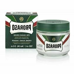 Proraso Pre-Shave Cream - Refreshing and Toning Formula 3.6o