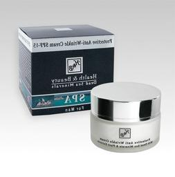 H&B Dead Sea Protective Anti-Wrinkle Cream for Men SPF-15