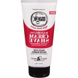 Magic Razorless Cream Shave Extra Strength 6 Oz.