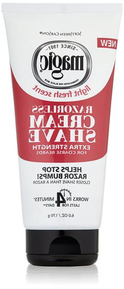 Razorless Shaving Cream for Men by SoftSheen-Carson Magic, H