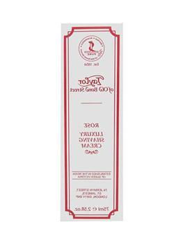 Taylor of Old Bond Street  Rose Shaving Cream Tube 75ml