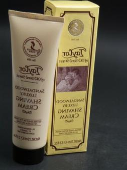 Taylor Of Old Bond Street Sandalwood Luxury Shaving Cream, 2