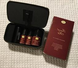 The ART OF SHAVING Sandalwood TRAVEL KIT Leather Case + Balm