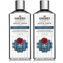Cremo All Season Body Wash, Blue Cedar & Cypress, 16 oz. 2-p
