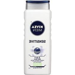 Nivea For Men Body Wash - Sensitive - 16.9 oz - 2 pk