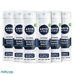 Sensitive Shaving Foam NIVEA Men Soothes Sensitive Skin 7 oz