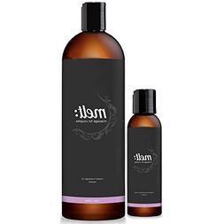 Melt Sweet Almond Sensual Massage Oil 16oz + Bonus 4oz Trave