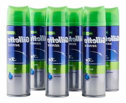 Gillette Series Sensitive Shave Gel 6 ct 200 ml. Shaving Cre
